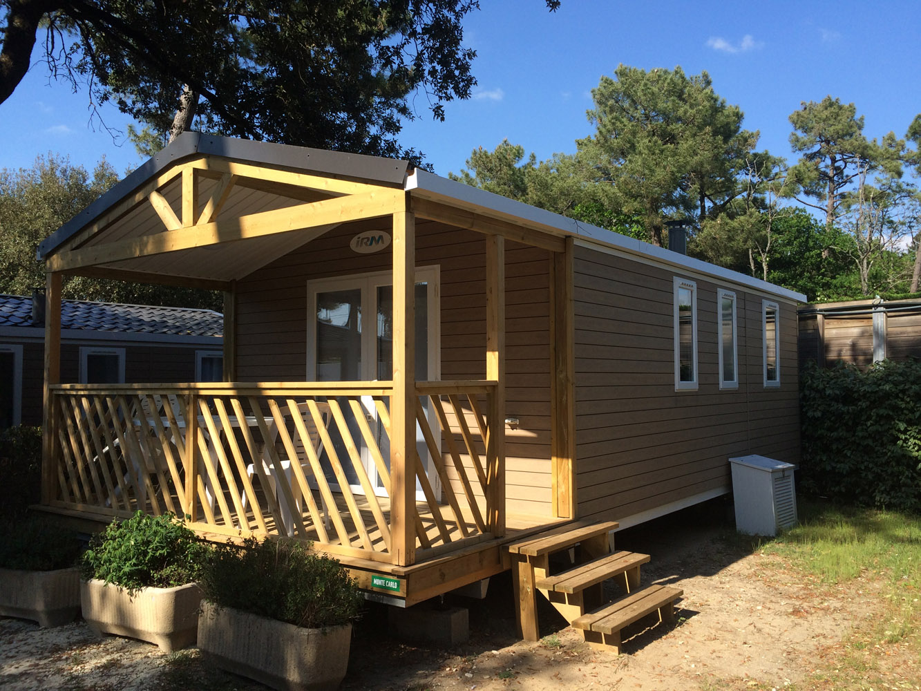 Mobile-home 2 bedrooms Loggia - 5-star campsite in Charente-Maritime