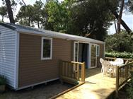 Accessible mobile home Pins 2 bedrooms with ramp in Charente-Maritime