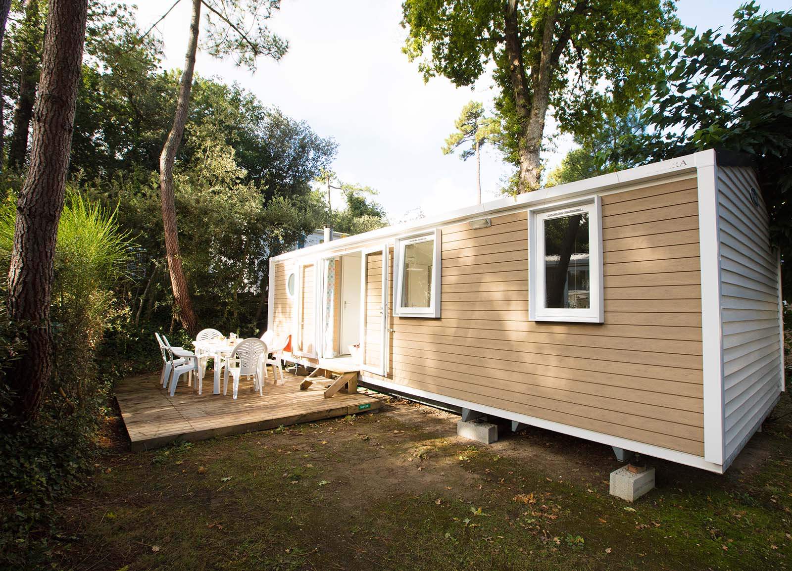Cottage Pins 3 bedrooms Evasion - Mobile home rental in Charente-Maritime