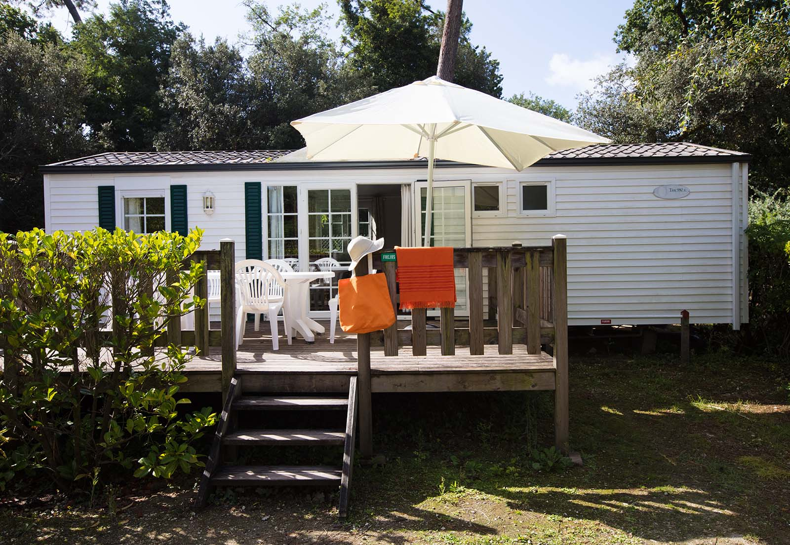 Mobile home 3 bedrooms - 5-star campsite beach and pool in Charente-Maritime