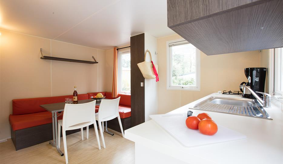 Mobile home rental 2 people - Campsite holiday in Charente-Maritime